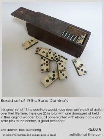 19th century Domino's