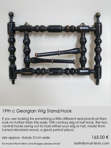 Georgian Wig Stand