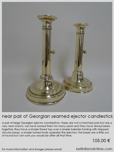 georgian candlesticks