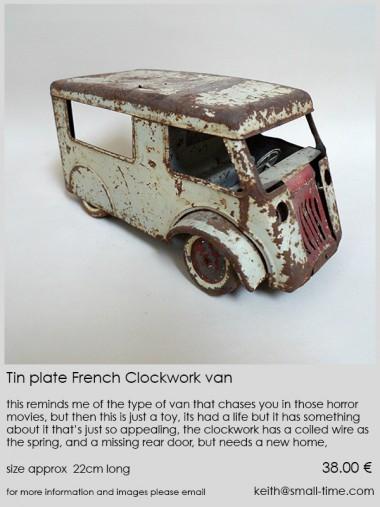 Tinplate Van